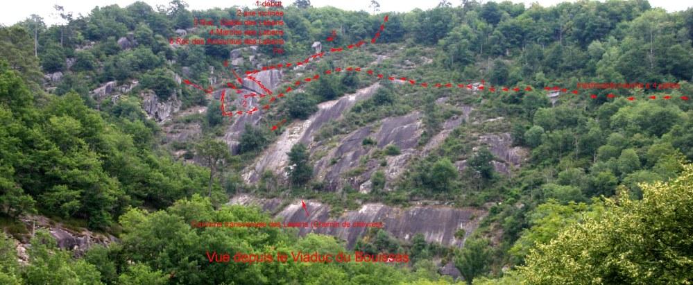 Les Labans rive gauche du Gijou, Vabre juillet 2011. (1/6)