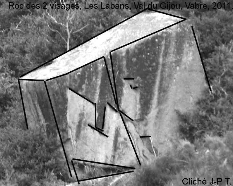 Les Labans rive gauche du Gijou, Vabre juillet 2011. (5/6)