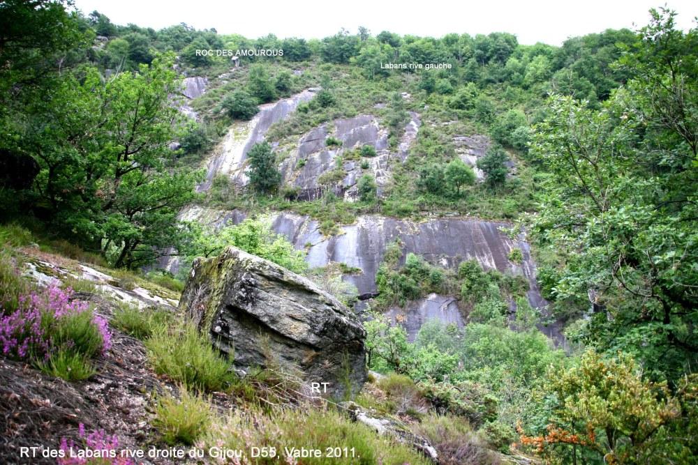 Nouveau rocher tremblant découvert.-Juillet 2011-Vabre Tarn (81). (1/6)