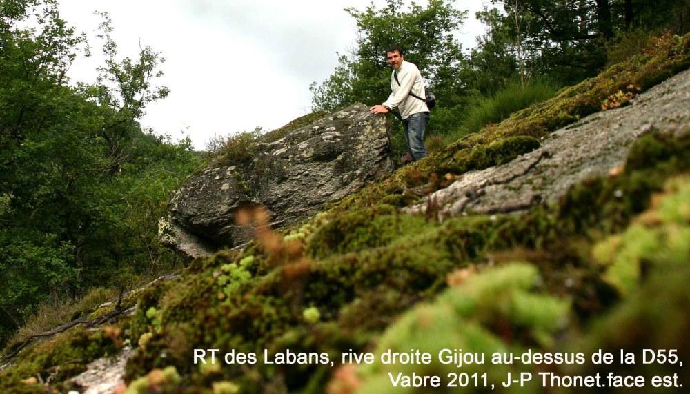 Nouveau rocher tremblant découvert.-Juillet 2011-Vabre Tarn (81). (3/6)