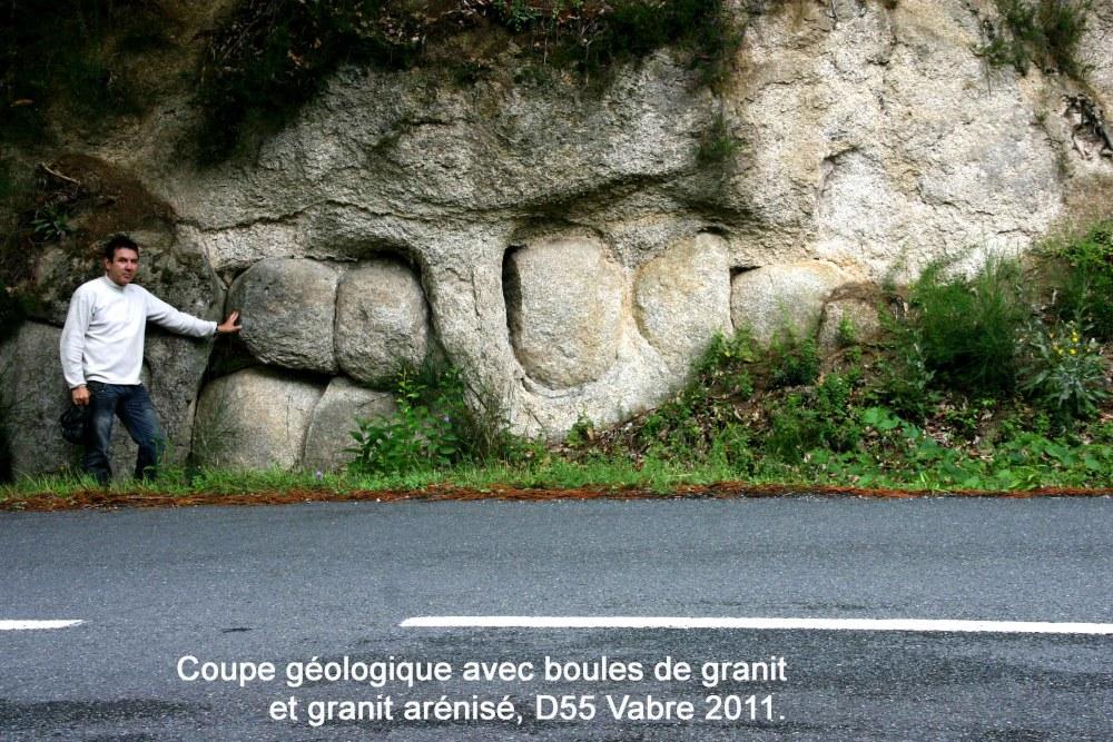 Nouveau rocher tremblant découvert.-Juillet 2011-Vabre Tarn (81). (2/6)