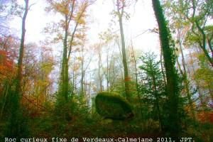 Le monument de Verdeaux.