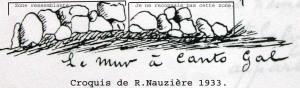 dessin de Nauzieres 1933