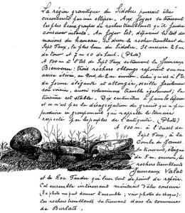 Manuscrit de Nauzières Noel 1931.