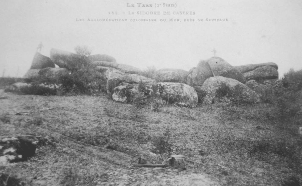 LASCOMBES: Roc Tremblant de Casse-Cailloux.  (5/6)