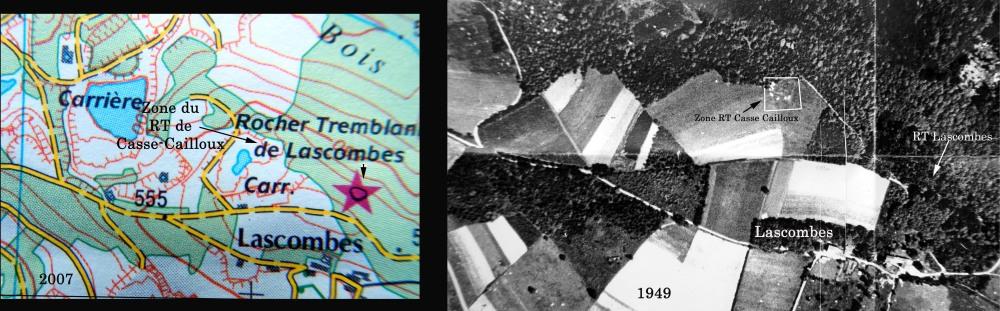 LASCOMBES: Roc Tremblant de Casse-Cailloux.  (6/6)